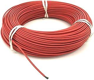 DZF697 1pc Russie Entrepôt 100m Fluoroplastique Fibre de Carbone Câble Chauffant 12K 33OHM Fil chauffé en Fibre de Carbon...