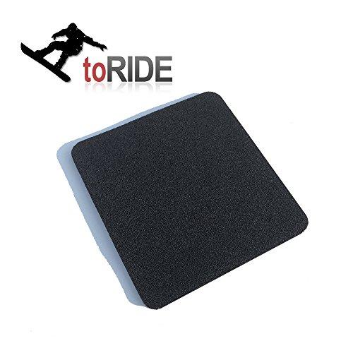 toRIDE Snowboard Stomp Pad | Anti Rutsch Pad selbstklebend als Neopren Aufkleber