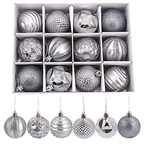 Homo Trends - Bolas de Navidad (24 unidades, 6 cm), diseño