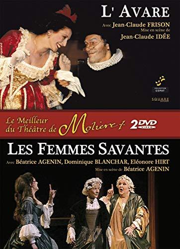 Molière (Coffret Théâtre 2 DVD) : Femmes savantes ; l'avare