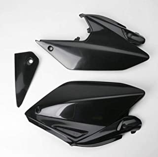 UFO HO03647-001 Replacement Plastic (FOR HONDA PANEL SIDE CRF250X BLACK)