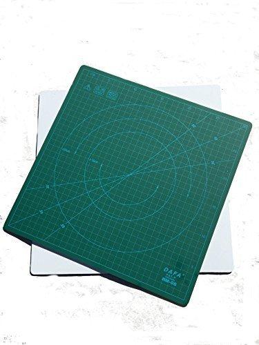 Dafa - Esterilla de Corte giratoria de 360° para autorreparación, 30 cm x 30 cm, Similar a OLFA