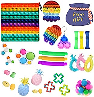 29 Pack Sensory Toys Set, Relieves Stress and Anxiety Fidget Toy for Children Adults, Special Toys Assortment for Birthday...