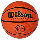 WILSON NCAA MICRO BALL Basketball, Rot, one size