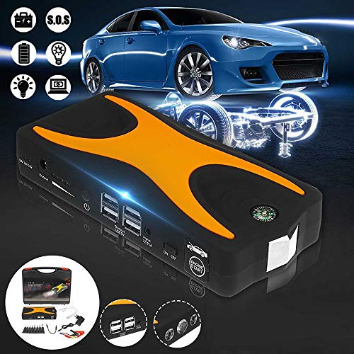 Buy Bargain CWWHY 12V Car Jump Starter, 900A 68800Mah Auto Battery Booster (Any Gasoline) Emergency ...