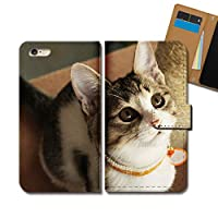 AQUOS sense4 lite SH-RM15 ケース 手帳型 ねこ画像 手帳ケース スマホケース カバー 猫 ネコ ねこ 動物 アニマル E0293010115501