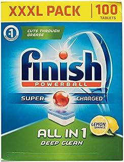 Finish英国原装进口亮碟洗碗机专用全效洗涤块100粒