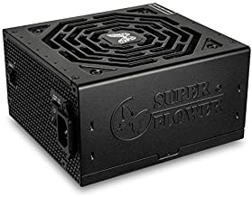 Super Flower Leadex III Gold 850W 80+ Gold, ECO Fanless & Silent Mode, Full Modular Power Supply, Fluid Dynamic Bearing Fa...