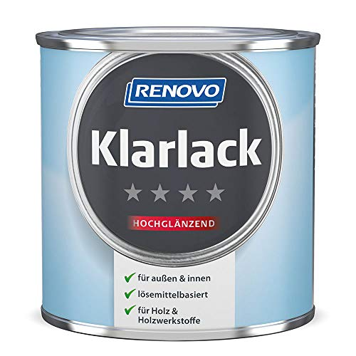 Klarlack 375 ml Hochglänzend Renovo