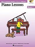 Piano Lessons Book 2 - Audio and MIDI Access Included: Hal Leonard Student Piano Library