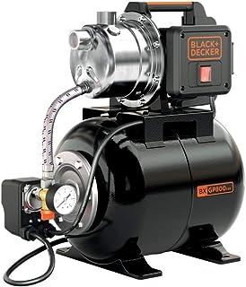 Black+Decker BXGP800XBE Bomba Autoaspirante con Caldera para Aguas Limpias (800 W, Caudal max. 3.500 l/h, Prevalencia max....