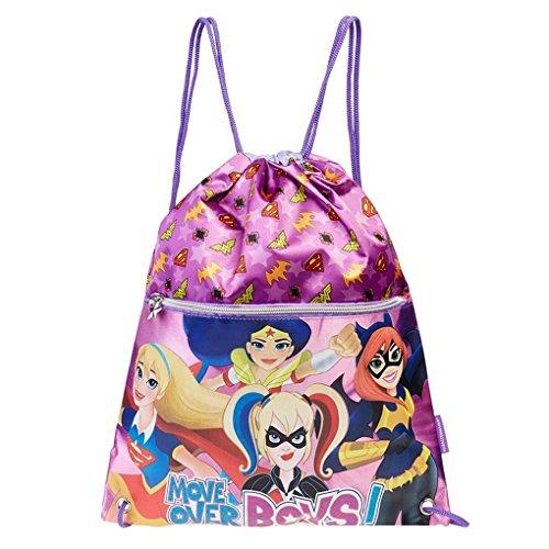 Karactermania 31152 DC Super Hero Girls Sacca, 41 cm, Viola