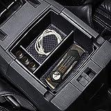 A ABIGAIL Center Console Organizer Tray Compatible with 2011-2018 Jeep Wrangler JK/JKU Rubicon Sport Sahara Accessories Armrest Storage Glove Box
