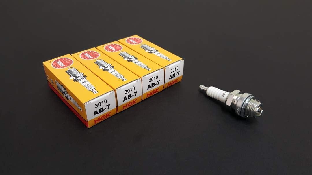 NGK Branded goods Standard Spark Plugs - Stock Tip AB7 #3010 AB-7 Screw Charlotte Mall