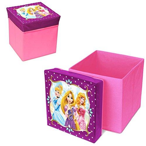 Easy Licences Disney Princess Storage Stool, Multi-Colou