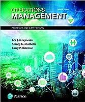 オペレーション管理:Lee Krajewskiによるプロセスとサプライチェーン