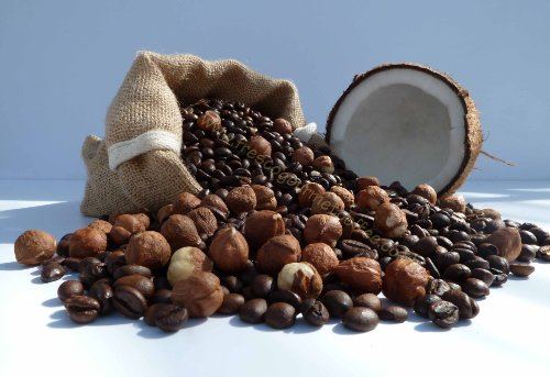 Hawaiian Hazelnut Flavoured Coffee (1kg, Beans)