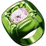 Swarovski Anillo de cóctel Dulcis 5609722 Verde