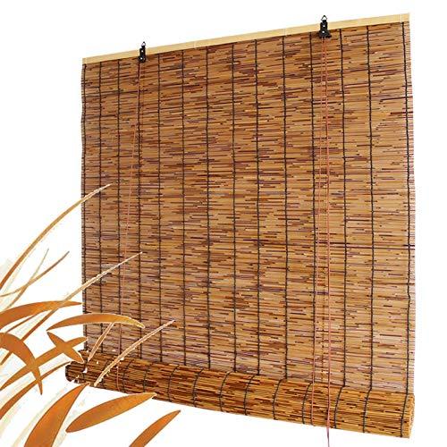 SHXF Persiana Enrollable bambú Natural Estores de bambú os