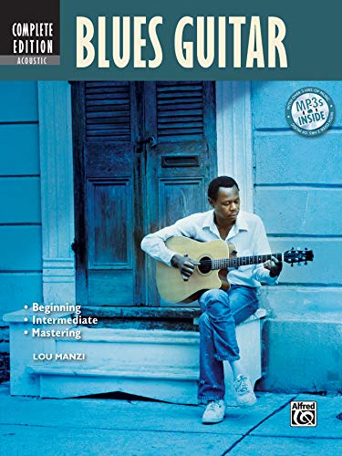 Acoustic Blues Guitar Method Complete (Book/CD/DVD) (National Guitar Workshop)