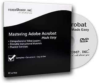 Learn Adobe Acrobat Pro DC Video Training Tutorial Course DVD-ROM