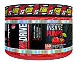 ProSupps NO3 Drive Nitric Oxide Amplifier for Insane Pumps with Nitrosigine and Hydromax, 30 Servings, Fruit Punch Flavor