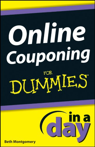 Amazon Com Online Couponing In A Day For Dummies Ebook Montgomery Beth Kindle Store