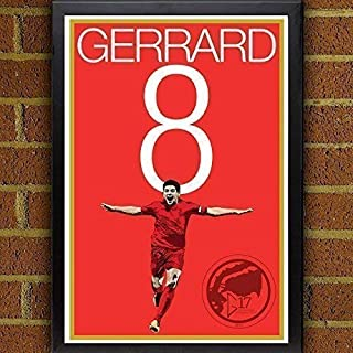 Steven Gerrard Poster - Liverpool Art