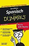 Sprachführer Spanisch für Dummies Das Pocketbuch - Susana Wald