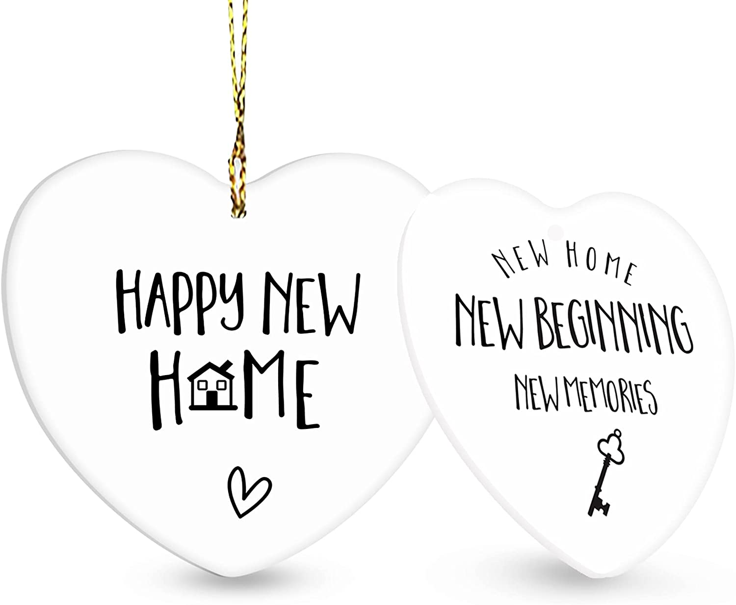 Housewarming Gift, New Home Gifts for Home Decor - Christmas Ornament 2021, House Warming Presents for New Home Funny, Housewarming Gifts for New House, New Homeowner Gift Ideas