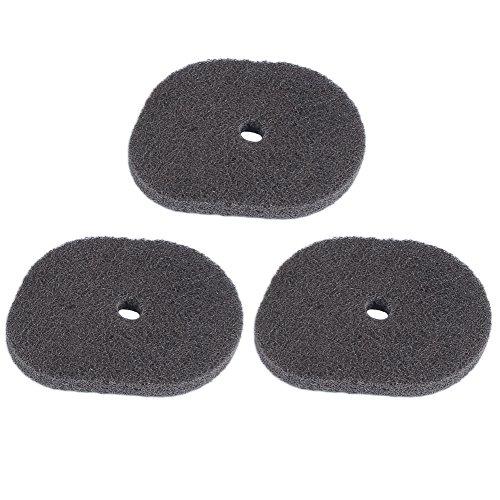 Hipa (Pack of 3 Replace Air Filter for STIHL FS40 FS50 FS56 FS70 FC56 FC70 KM56 HT56C Trimmer Brush Cutter # 4144 124 2800