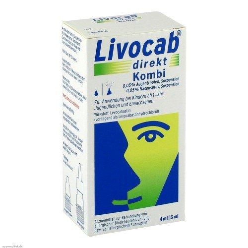 LIVOCAB direkt Kombi 4 ml Augentr.+5 ml Nasenspray 1 P