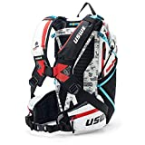 USWE Hajker Pro 30L, Lightweight Winter Backpack for Hiking, Ski, Snowboard, Bike with Waterproof Rolltop, for Men and Women. Insulated Snow Hydration Pack with Freeze Protection. Bounce Free, White