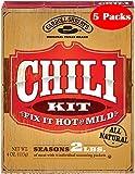 Carroll Shelbys Chili Kit 4 Oz Pack of 5