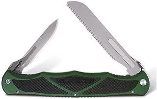 Hydra Double Blade, Hunter Green Aluminum Handle w/Case [XTC-HYDHGBS - Havalon Knives]