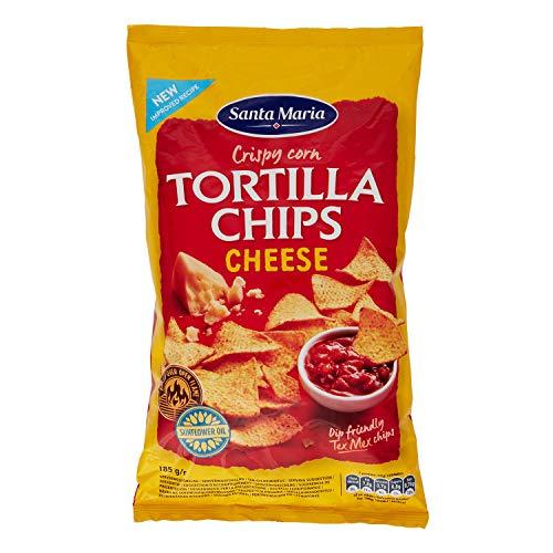 Eurofood Tortilla Chips con Formaggio - 185 gr