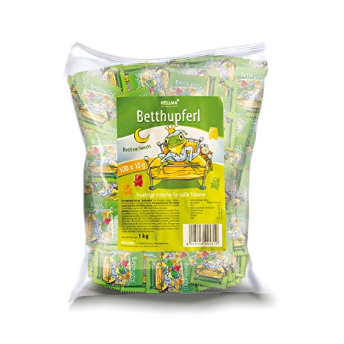 HELLMA 70000117 Fruchtgummi Betthupferl, im Polybeutel