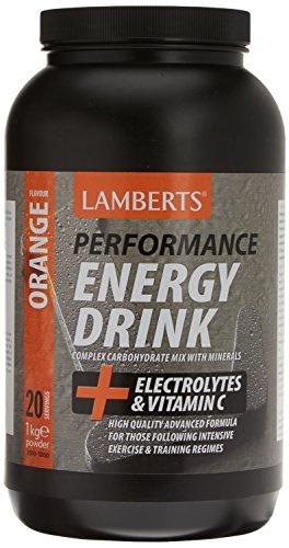 Lamberts Bebida Energética, Sabor a Naranja - 1000 gr