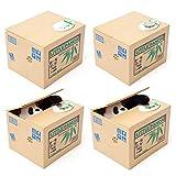Elektronische Spardose Pandabär Itazura Little Panda Elektrische Spardose Sparbüchse - 4
