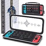 OIVO Funda rígida para Nintendo Switch/Switch Lite, con capacidad para 10 juegos, diseño de Monster Hunter Rise