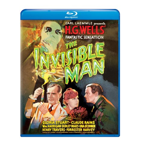 The Invisible Man (1933) [Blu-ray]