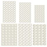 Outus 254 Pieces Clear Rubber Feet Bumper Pads Adhesive...