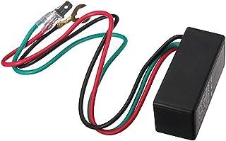 Mtsooning 1/Motorrad Blinker LED Indikatoren Licht Flasher Blinker-Relais 12/V 3/Pin