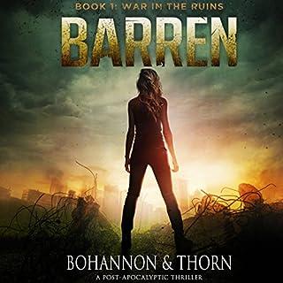 Barren audiobook cover art