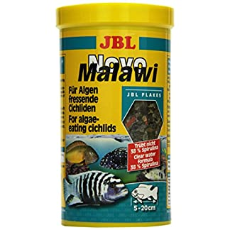 Jbl Novomalawi Algae-Eating Cichlid Food 160g 1
