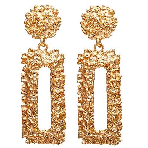 Pendientes De Moda Pendientes De Gota De Oro Para Mujer Pendiente Geométrico Acrílico De Concha Redonda 2021 Brincos Joyería Étnica Vintage