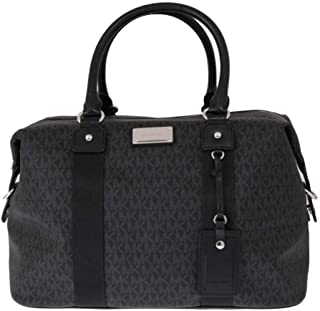 LG large travel bag weekender purse MK black carry-on