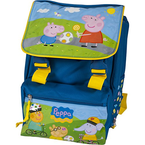 Peppa Pig et George Cartable Bleu