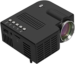 Mini Projector, Portable Home Theater Movie Projector with 20,000 Hrs LED Lamp Life, Full HD 1080P Supported, Compatible w...