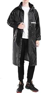 Zhicaikeji Gilets Réfléchissants Haute visibilité Mens Rain Jacket Workwear Manteau de Pluie imperméable for Toute activit...